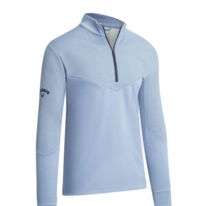 Callaway 1/4 ottorman fleece dusty blue