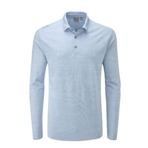 Ping Corey Long Sleeved Polo Shirt