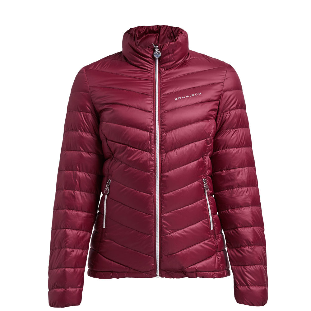 Rohnisch Light Down Jacket Burgandy