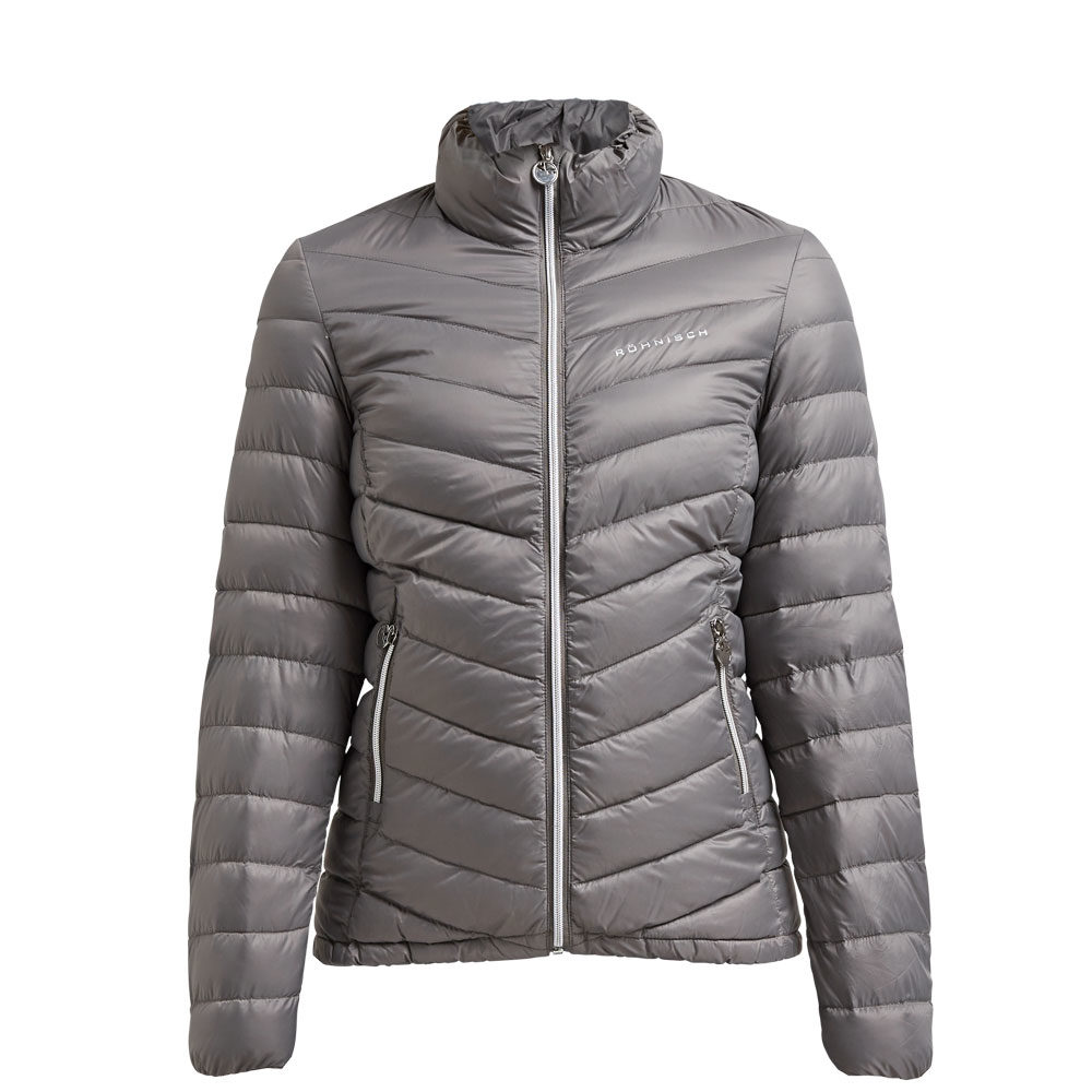 Rohnisch Light Down Jacket Grey