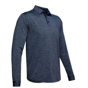 Under Armour Long Sleeve Playoff 2.0 polo Navy
