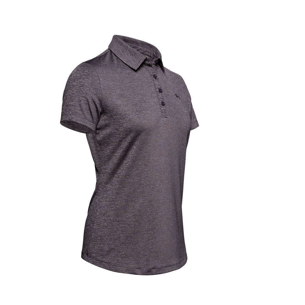 Under Armour Zinger Short Sleeved Polo Purple