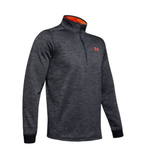 Under Armour Fleece 1-2 Zip Black