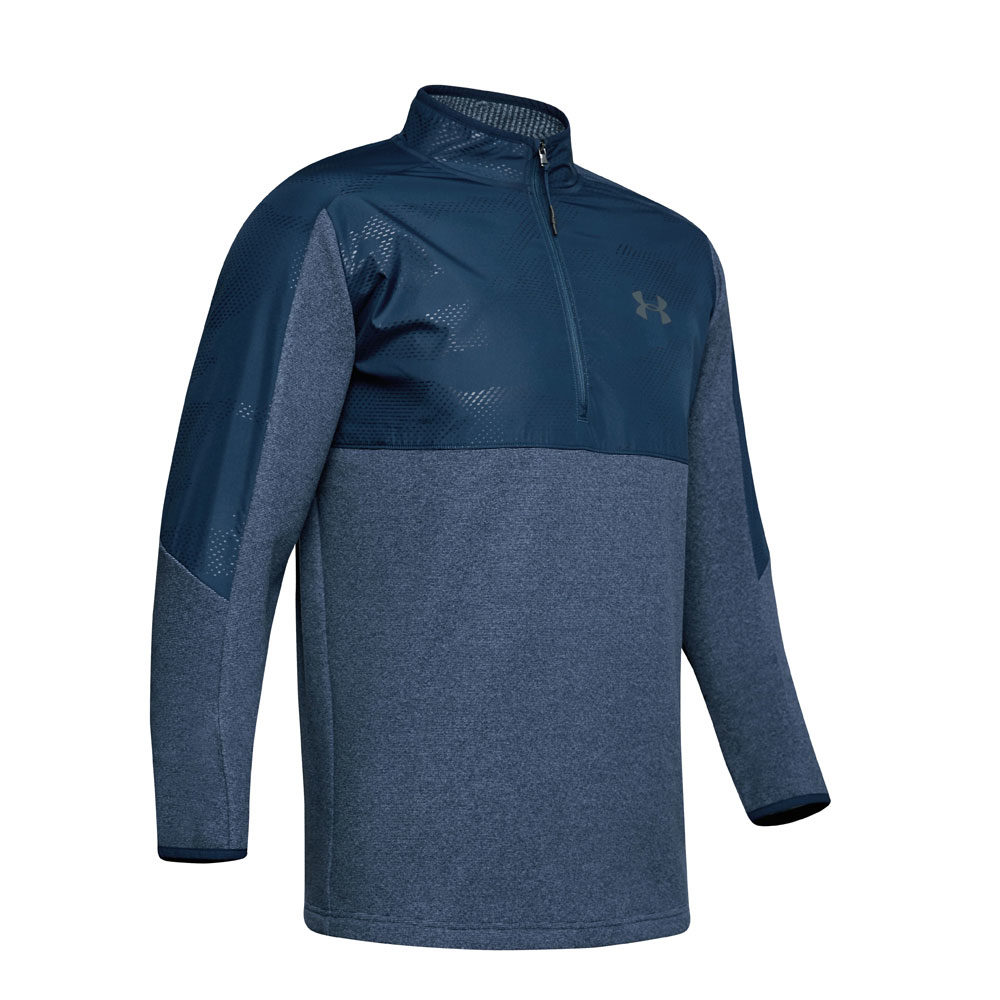 Under Armour CGI 1-2 Zip Navy