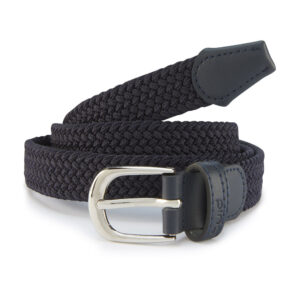 Ping Ladies Stretch Webbing Golf Belt Navy