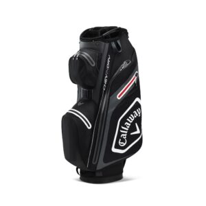 Callaway Chev Dry 14 Cart Bag Black, Peter Field Golf