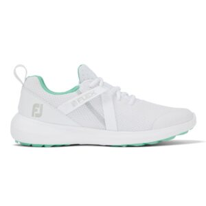 Footjoy Ladies Flex Golf Shoes White/Green