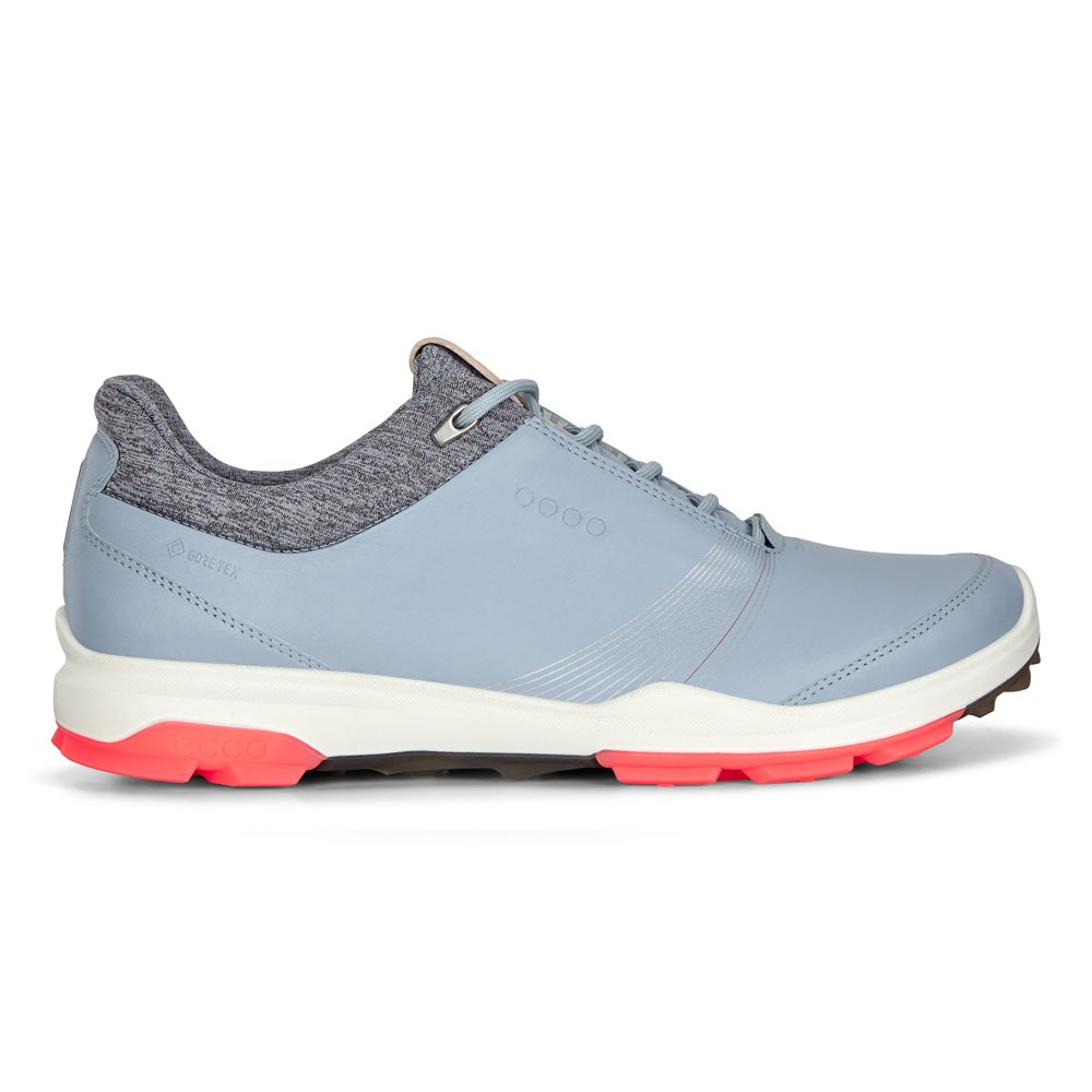 Ecco Ladies Hybrid 3 Shoes Blue, Peter Field Golf