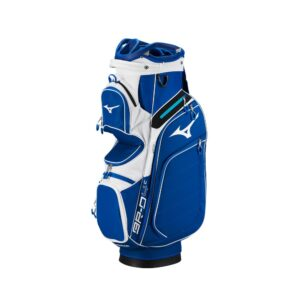 Mizuno BR-D4 Cart Bag Blue/White, Peter Field Golf