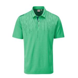 Ping Carbon Polo Shirt Green