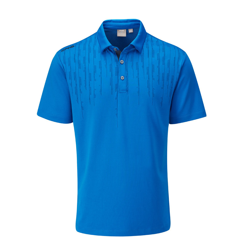 Ping Carbon Polo Shirt Snorkel Blue