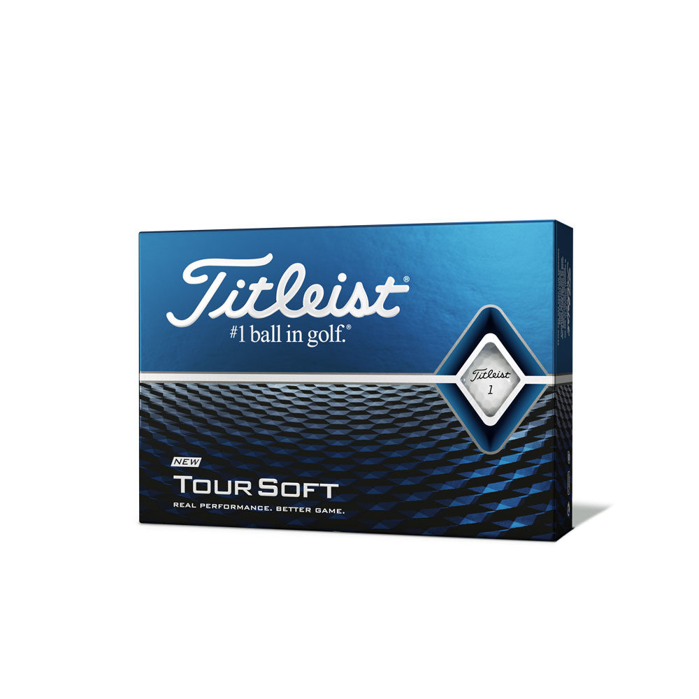 Titleist Tour Soft Golf Balls White