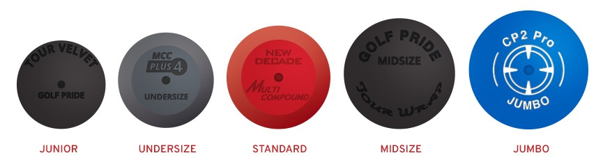 What Is The Optimal Grip Size For You Peter Field Golf Shop