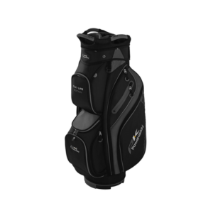 Powakaddy DLX Lite Cart Bag Grey, Peter Field Golf