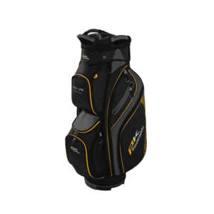 Powakaddy DLX Lite Edition Cart Bag Yellow, Peter Field Golf