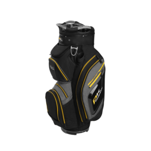 Powakaddy Premium Tech Cart Bag BlkYllw, Peter Field Golf