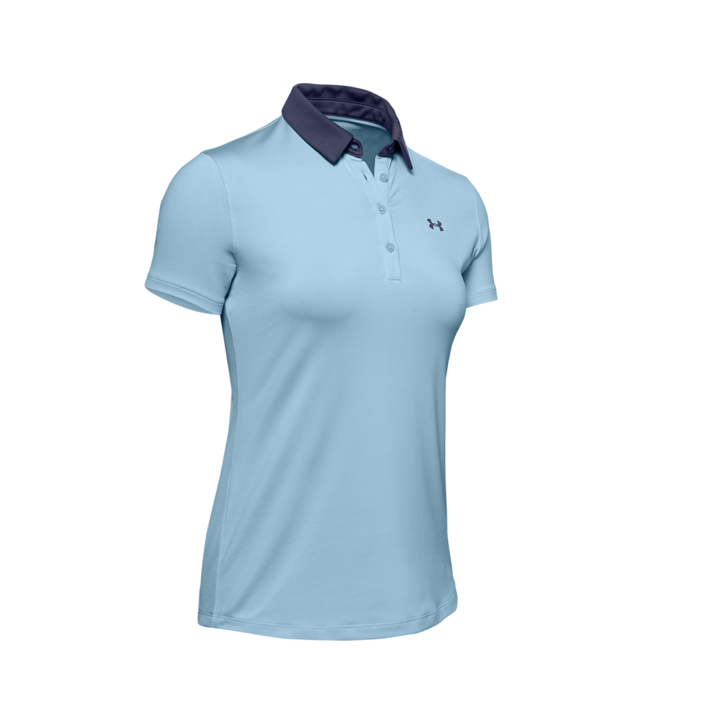 Under Armour Zinger Short Sleeved Polo Blue