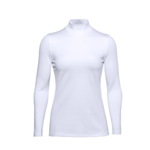Under Armour CGI Storm LS Golf Mock White