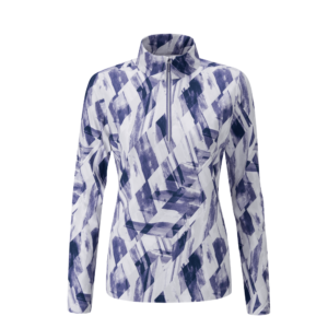 Ping Kira Marlin Half Zip Top Marlin Multi