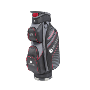 Motocaddy Lites Series 2020 Cart Bag Red, Peter Field Golf