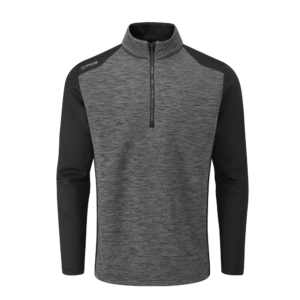 Ping Mellor Half Zip Fleece Grey/Black