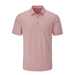Ping Preston Polo Shirt Cyber Red