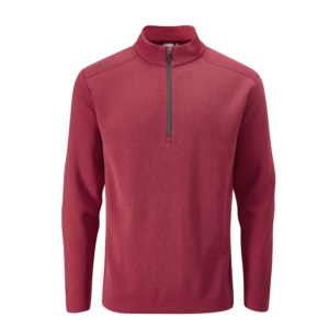 Ping Ramsey Rich Red Marl Fleece