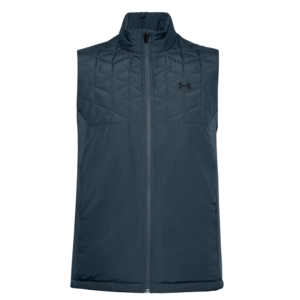 Under Armour ColdGear Reactor Hybrid Gilet Blue Front