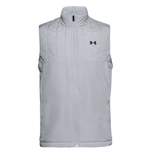 Under Armour ColdGear Reactor Hybrid Gilet Grey Front