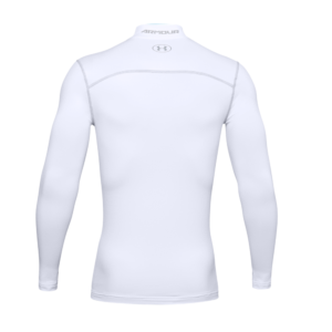 Under Armour ColdGear Mock White Back