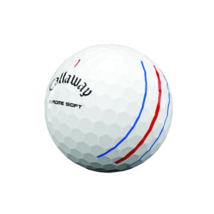 Chrome Soft TT Golf Ball