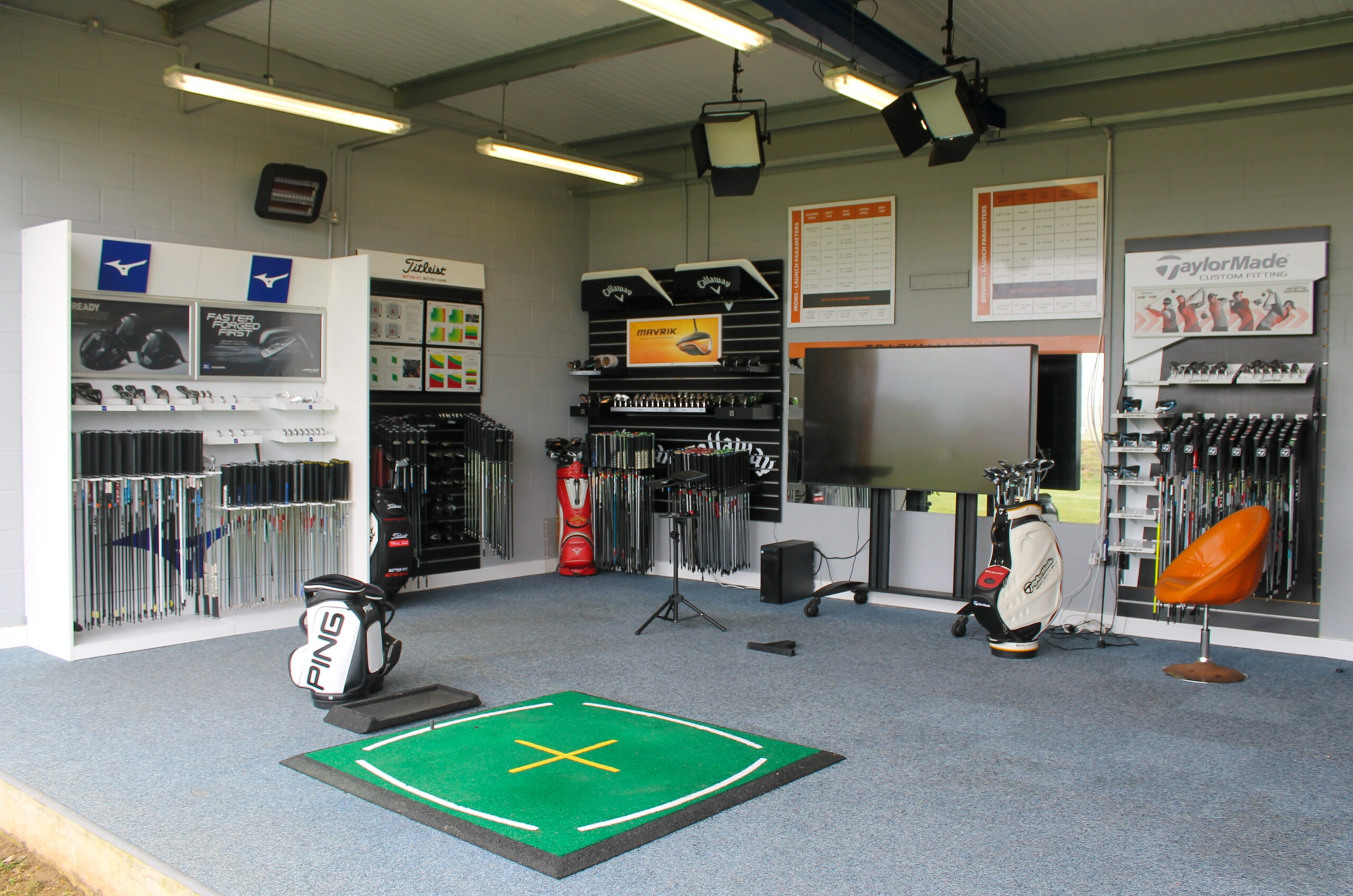 custom fitting bay peter field golf shop norwich norfolk