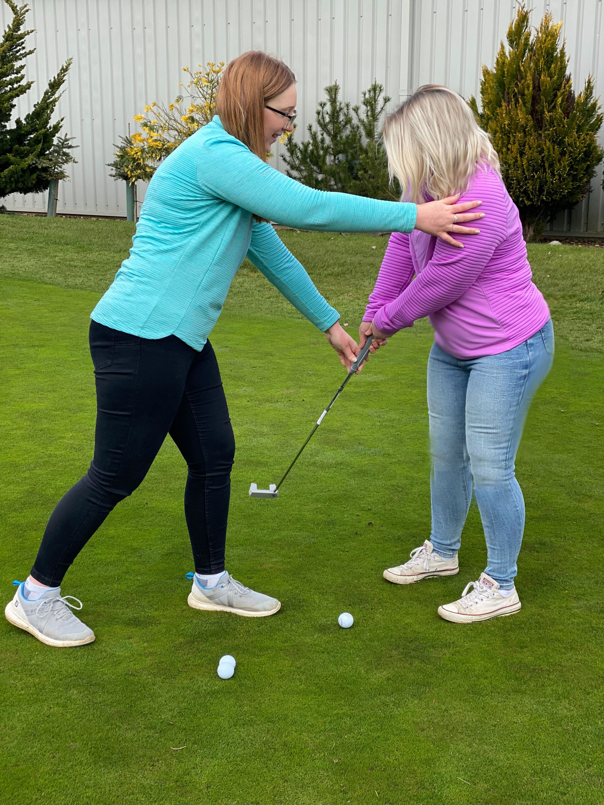 ladies golf lessons Peter field golf shop Norwich Norfolk