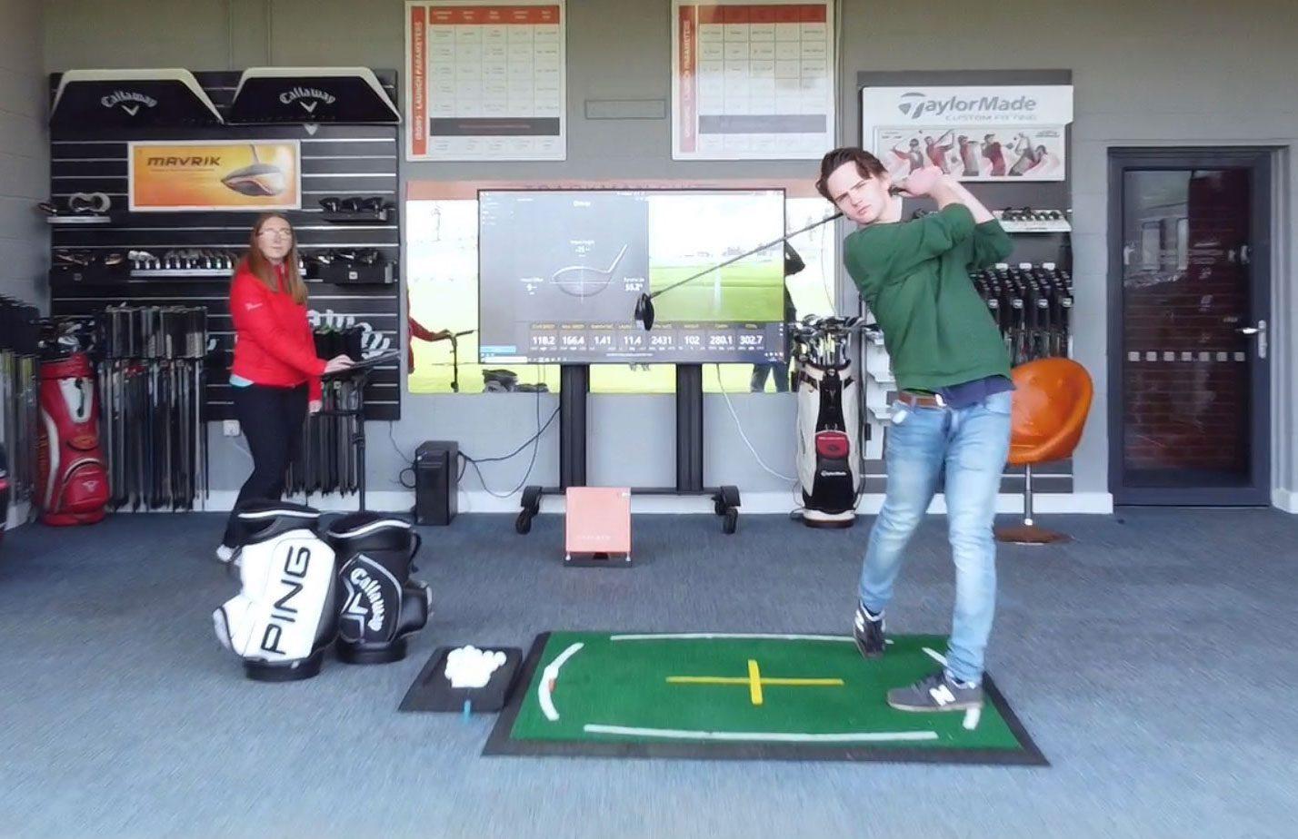 Custom fitting peter field golf pro shop norwich, norfolk