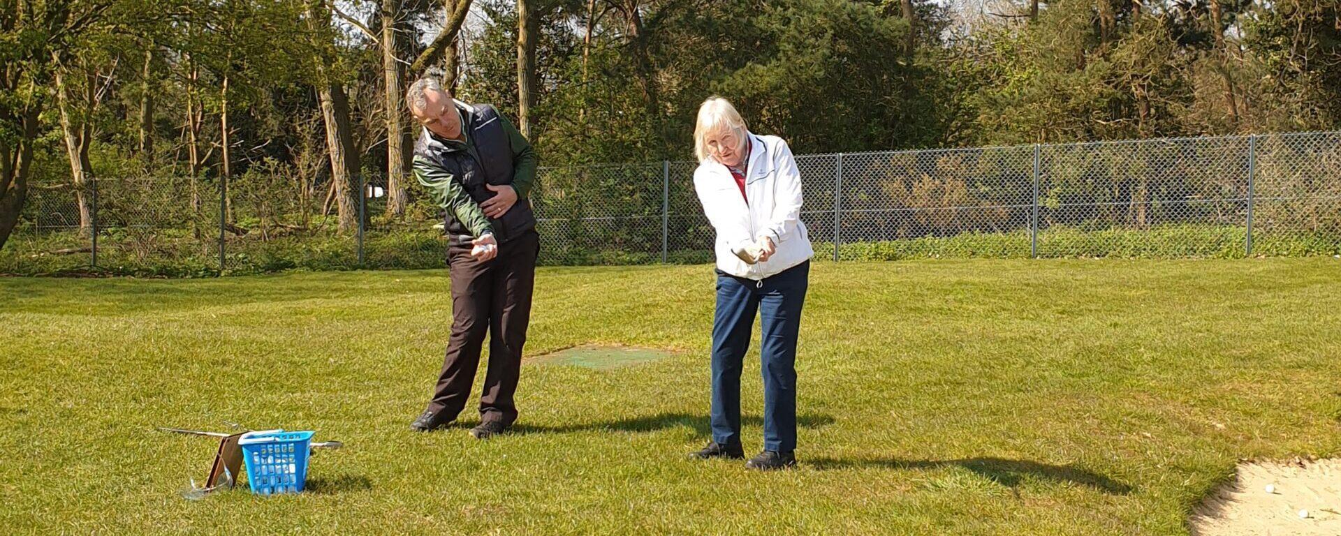 Golf Lesson Peter Field Golf Shop Norwich Norfolk