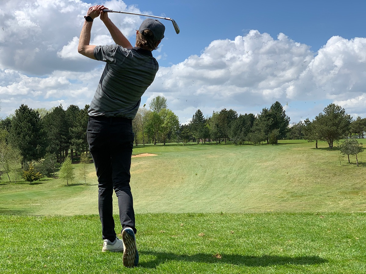 On-Course Golf Lessons at Peter Field Golf Shop Norwich, Norfolk