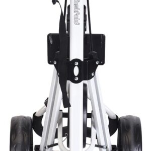 FastFold Force Golf Trolley - White