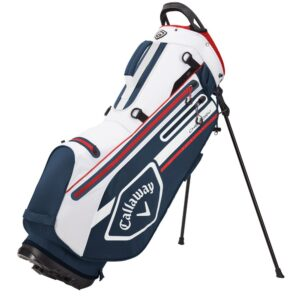 Callaway chev dry stand bag 2021 navy/white/red