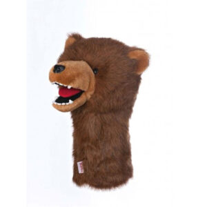 Daphne's grizzly bear head cover   Peter Field golf shop Norwich, Norfolk