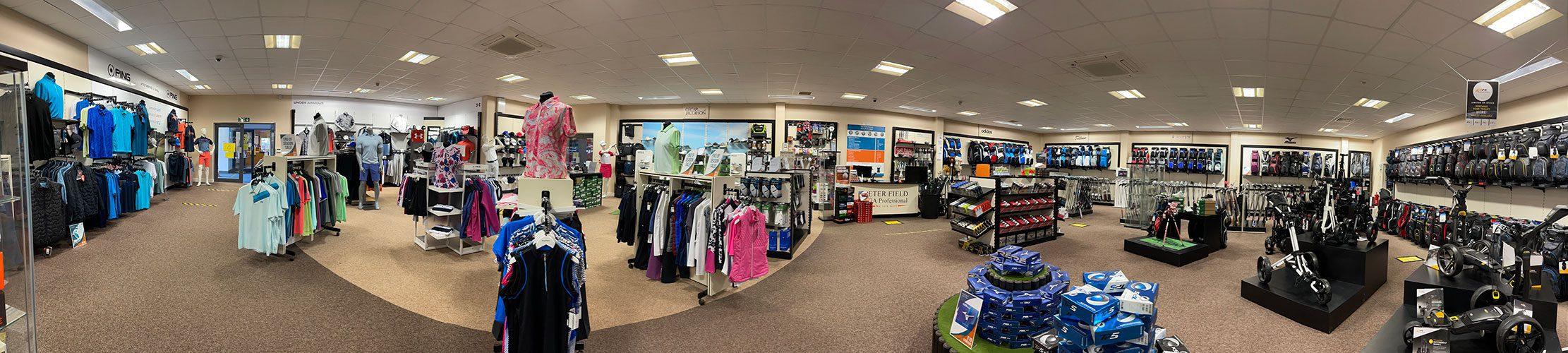 Shop   Peter Field Golf Shop, norwich