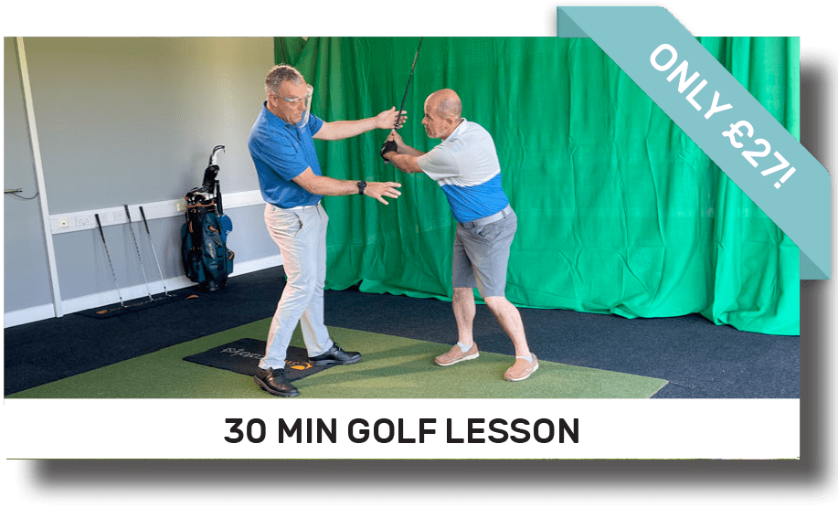 30 minute golf lesson | Peter Field Golf, Norwich