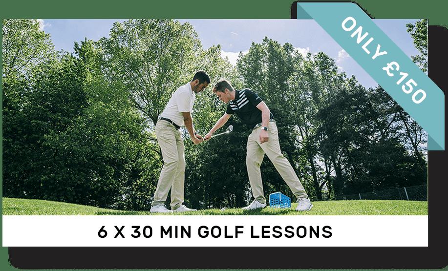 30 min x 6 golf lessons | Peter Field Golf, Norwich