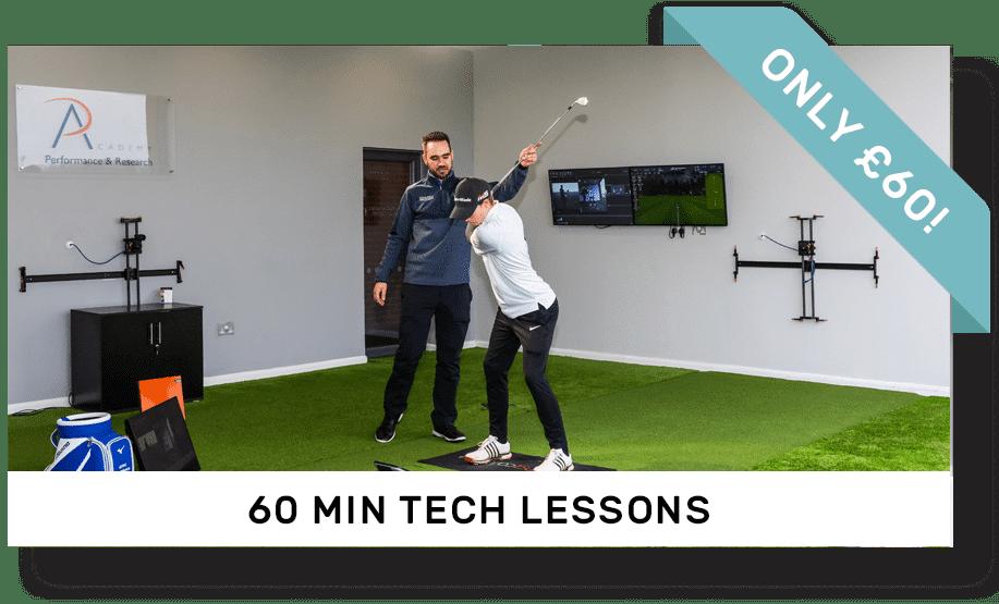 60 Minute Tech Golf Lesson | Peter Field Golf, Norwich