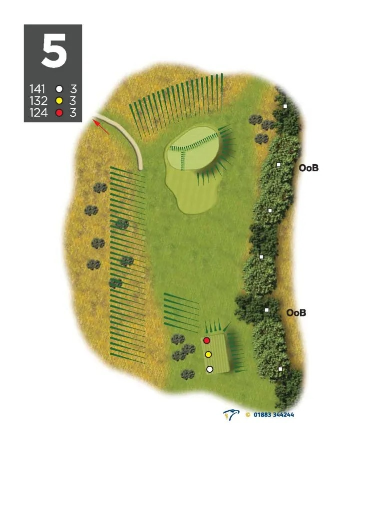 on course playing analysis 9 hole Bawburgh | Peter Field Golf, Norwich