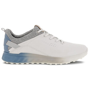 Ecco S-Three golf shoes White/Mirage | Peter Field Golf Shop, Norwich