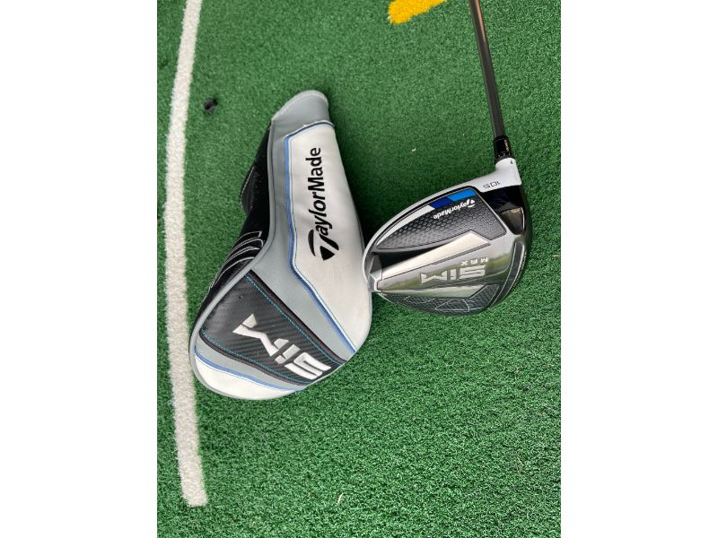 Second Hand Taylormade Sim Max Driver 10.5º - Left Handed | Peter Field Golf Shop, Norwich