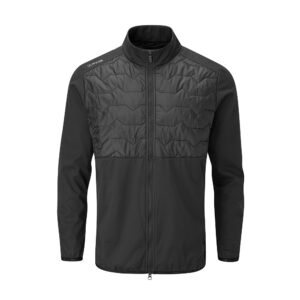 PING Norse S2 Zoned Jacket - Black | Peter Field Golf Shop, Norwich