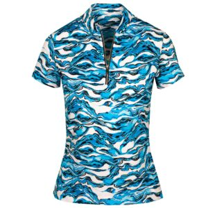 Tail Ladies polo shirt- geode fusion | Peter Field Golf Shop, Norwich