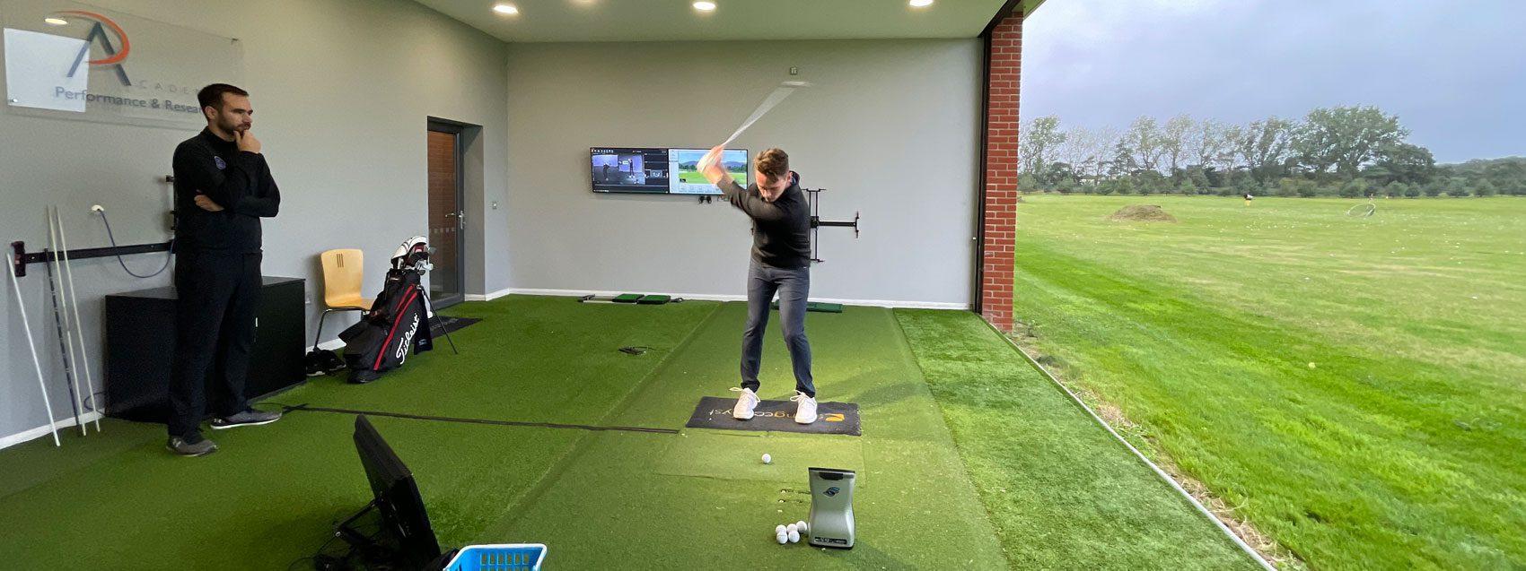 Jim Tech Lesson   Peter Field Golf, Norwich