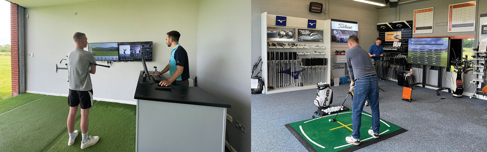 golf lessons or custom fitting blog post   Peter Field Golf Shop, Norwich